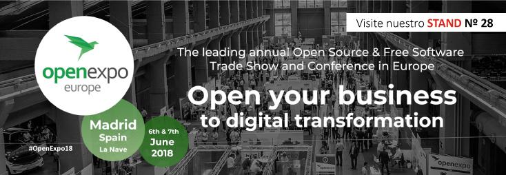 RIC.DOC participa en Open Expo 2018, el mayor evento profesional sobre Trasformación Digital