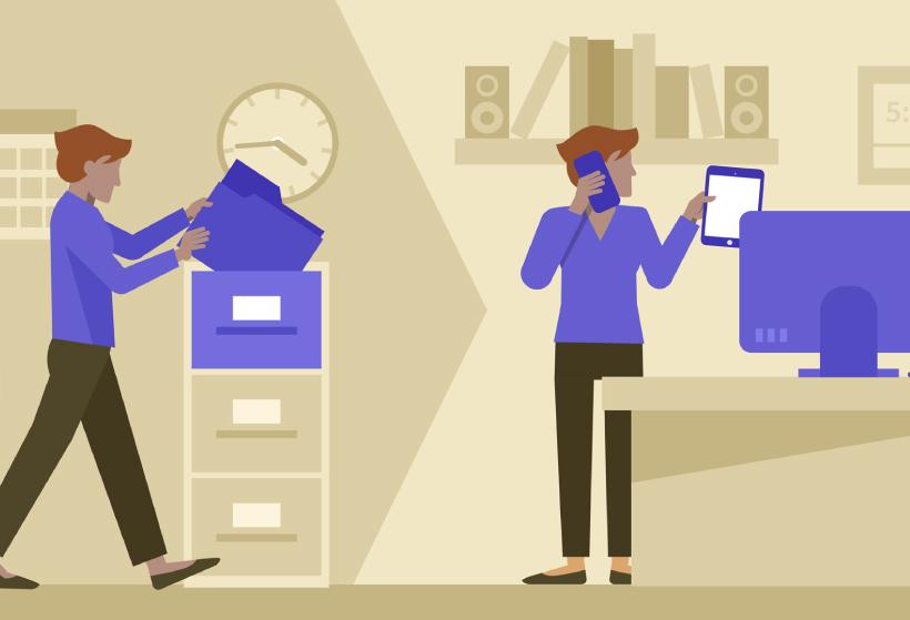 La transformación digital en el puesto de trabajo